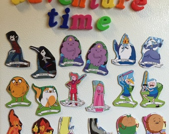 PICK TWO! adventure time character magnets