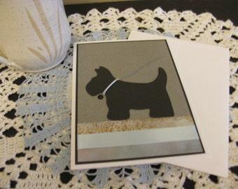 Black Doggie Card