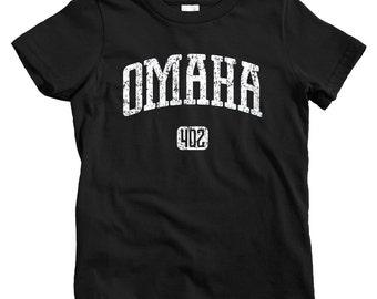 Kids Omaha 402 T-shirt - Baby, Toddler, and Youth Sizes - Omaha Nebraska Tee - 4 Colors