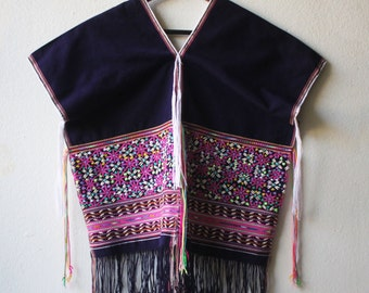 Hmong Embroidered and Embelished Blouse