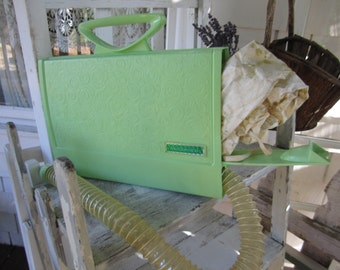Sunbeam Hair Dryer Portable Green 70s