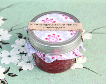 Homemade Raspberry Jam - 4oz