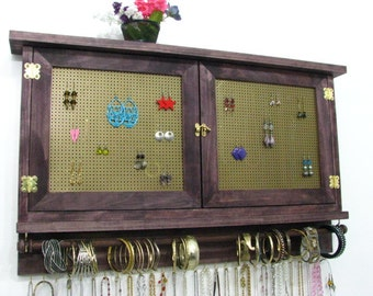 Choose your own colors jewelry holder