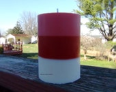 Limited Time Only. 16oz Valentine's Day Theme 100% Soy Pillar Candle. Assorted Scent To Choose. Made To Order.