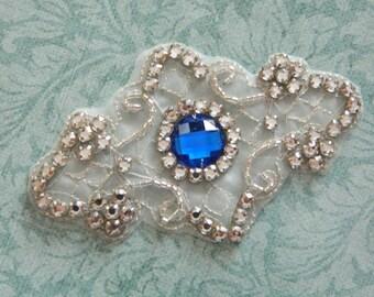 Bridal Accessories Crystal Applique Wedding Applique Rhinestone Applique Rhinestone Applique Model:DSCN2248