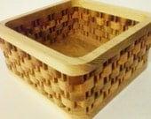 Faux Weave Basket