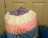 Intersex pride flag hat - made to order