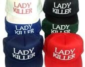 Kid's Toddler Snapback Lady Killer Mesh Trucker Hat Cap