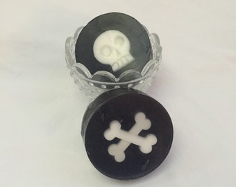 Halloween, Skull, Creepy, Scary, Soap, Bath and Body, Crossbones