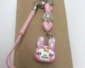 Cute Animal Crossing Chrissy Rabbit Charm