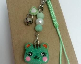 Cute Animal Crossing Mint Squirrel Charm