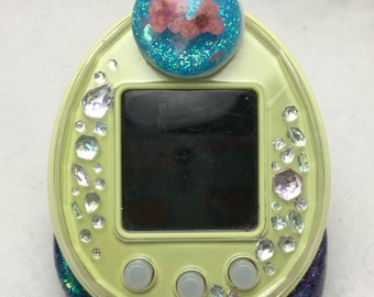 Cute Kawaii Dried Flowers Tamagotchi P's Decorative Pierce