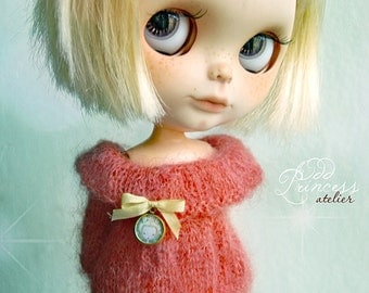 BLYTHE Sweater MARMELADE By Odd Princess Atelier, Shabby Chic, Hand Made, New Collection, Special Outfit