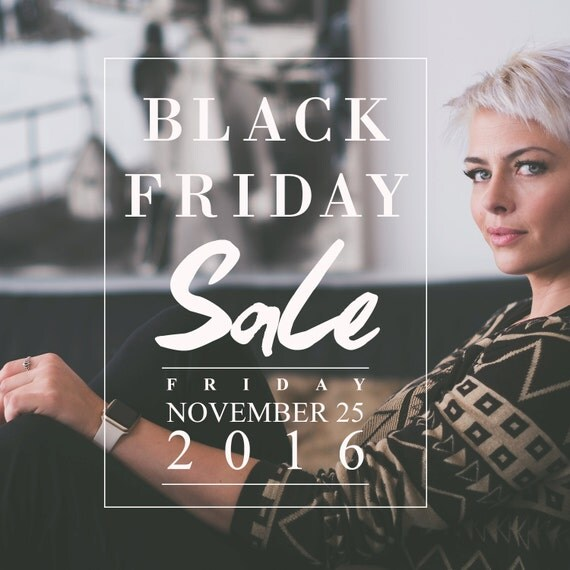 items similar to black friday sale template instagram photoshop template blog template store. Black Bedroom Furniture Sets. Home Design Ideas