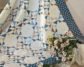 Lydia's Favorite Quilt Pattern  68'' x 68'' Pattern only 2.99