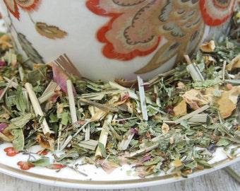 Vishuddha Chakra Organic Herbal Loose Tea