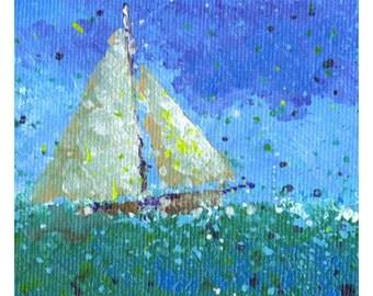 Sailboat Poster A