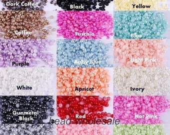 3mm Flat Back Pearl Dots | 150 pieces