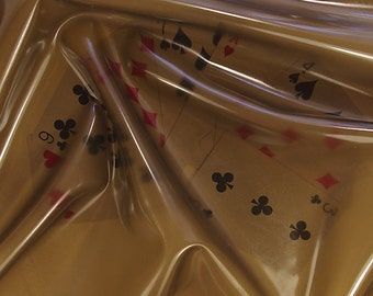 Latex sheet Translucent smoky black 0,25mm - 2 darker pieces 57x100 and 30x100