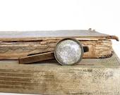 Globe Tie Clip / Tie Bar / Tie Tack in Bronze or Silver - Earth