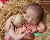 Vintage New Infant Baseball Jersey Set Includes Custom Embroidery, Hat and Diaper Cover By Messy Kids Designs YOU pick the Colors