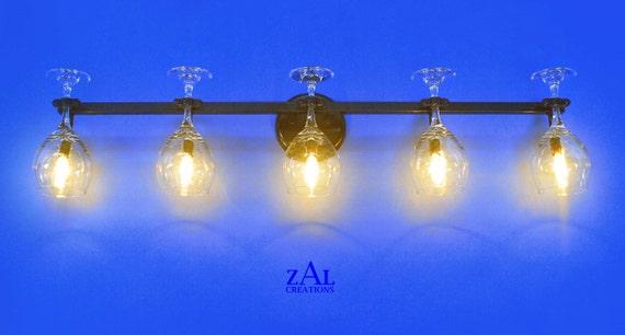Wine Glass Wall Lights : Vanity Light. Wine glass. Wall light. 3 ft.