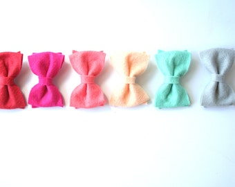 Baby Felt Hair Bow Pick Two