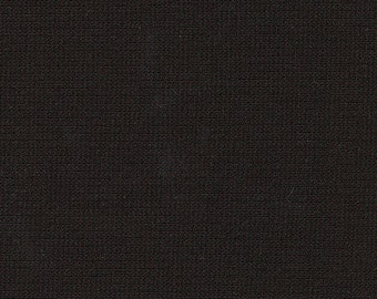 """60"""" Wide Black Ponte de Roma Double Knit by the yard"""
