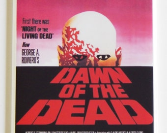 Dawn of the Dead Movie Poster Fridge Magnet
