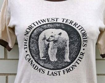 Vintage Polar Bear Shirt Canadian