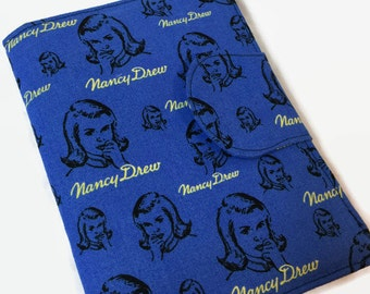 Nancy Drew iPad Mini Cover Kindle, Nook Cover, Kobo Cover, Kindle Fire Cover,Kindle Paperwhite, Kindle Touch, Nexus 7