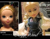 Moxie Girlz Transformed, bratz transformation, doll changed, makeover dolls
