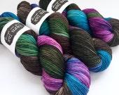 sparkle {sock} | HUMMINGBIRD | ready to ship | hand dyed yarn | merino nylon stellina fingering