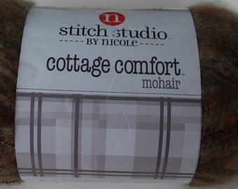 1 skein Stitch Studio by Nicole cottage comfort mohair