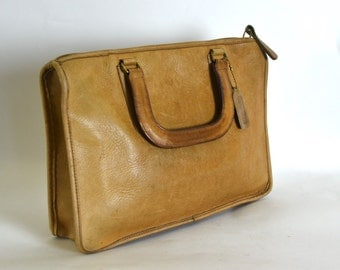 Coach Vintage Cashin Speedy Brief Bag - British Tan - So Gorgeous
