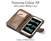 Galaxy A8 Leather Wallet ...