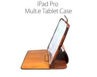 iPad Pro Case Stand, Full Size (12.9), All Leather iPad Case, iPad Stand, iPad Cover, leather iPad Pro Case