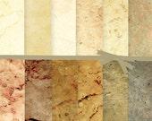 Digital Scrapbook Paper, Marble Digital Paper, Industrial Digital Paper, Ivory Textured Digital Paper, Photography Background Paper, #15060B