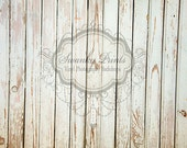 8ft x 7ft Vinyl Photography Backdrop  / White Washed Out Wood