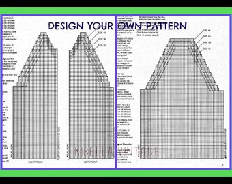 Make Your Own Knitting Pattern Online : Sweaters Graphs