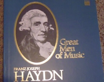 Haydn Time Life Great Men of Music box set, vinyl records, classical music, Boston Symphony Orchestra, Neville Marriner, St Martin