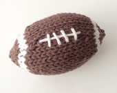 Mini knit football plush toy