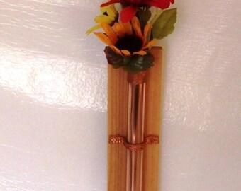 Copper & Cedar Vase 12 inch C-C-V-12