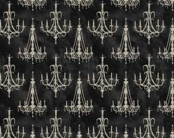 David Textiles - Paris Charm by Wild Apple - Vintage Chandelier