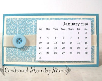 2016 Easel Desk Calendar - Pastels