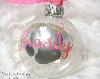 Personalized Pet Ornament - Pet Christmas Ornament