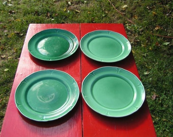 Vintage Dinnerware Plates - Set of Four Two Marked 1132 M