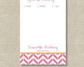 From the Mom of Notepad Personalized or Monogram Monogrammed