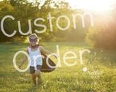 Custom Order for Jacque