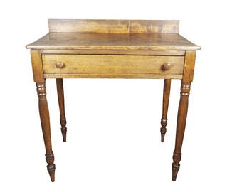 19th Century Sheraton Rustic Farmhouse Table